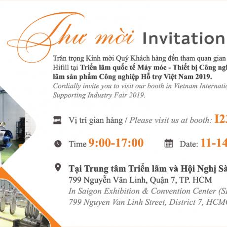 THƯ MỜI THAM DỰ TRIỂN LÃM VIMAF & VSIF 2019